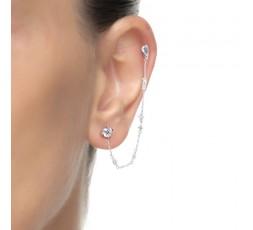 Piercing de plata Luxenter Ref. PIR0430000