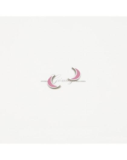 Pendientes de Agatha Ruiz de la Prada luna rosa Ref. 074SUP