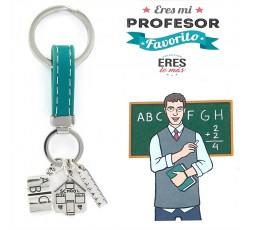 Llavero de plata profesor Ref. 9109426