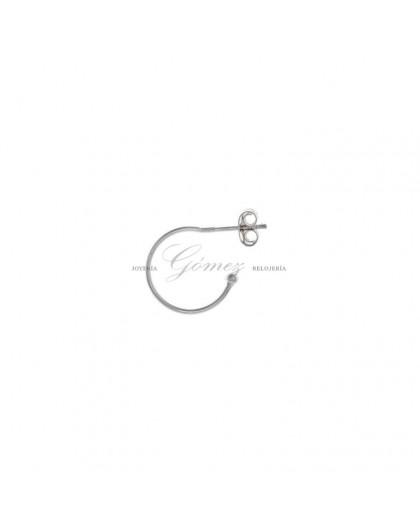 Pendientes de aros de plata Salvatore Ref. 213CH005