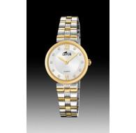 Reloj de señora Lotus bicolor Ref. 18542/3