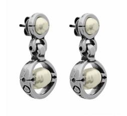 Pendientes Ciclon con perlas Ref. 211601-40