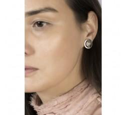 Pendientes con perla Ciclon Ref. 211602-40