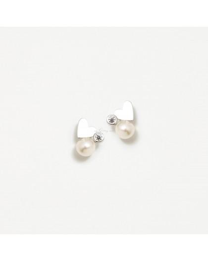 Pendientes de perlas de Agatha Ruiz de la Prada Ref. 012LEO