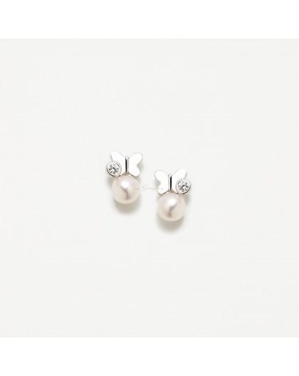 Pendientes de perlas de Agatha Ruiz de la Prada Ref. 013LEO