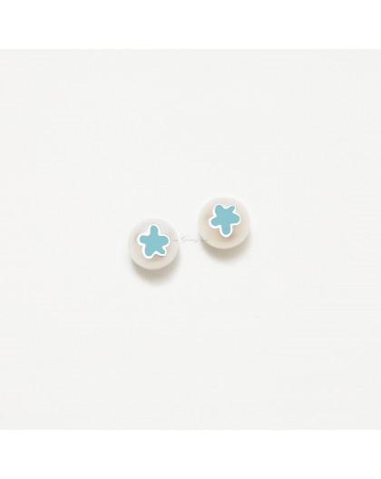 Pendientes de perlas de Agatha Ruiz de la Prada Ref. 018LEO