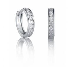 Pendientes de aros de plata Viceroy Ref. 21009E000-30