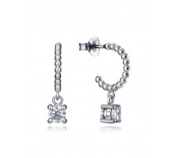 Pendientes de aros de plata Viceroy Jewels Ref. 7125E000-38
