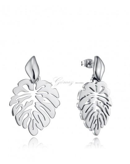 Pendientes hojas de acero Viceroy Fashion Ref. 15114E01000