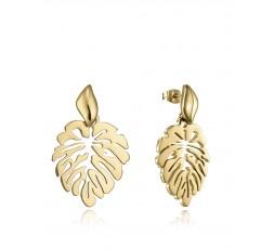 Pendientes hoja dorado Viceroy Fashion Ref. 15114E01012
