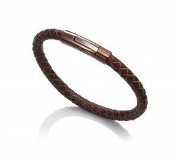 Pulsera cuero marron Viceroy Fashion Ref. 6204P09011