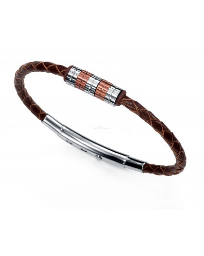 Pulsera cuero marron Viceroy Fashion Ref. 6205P09010