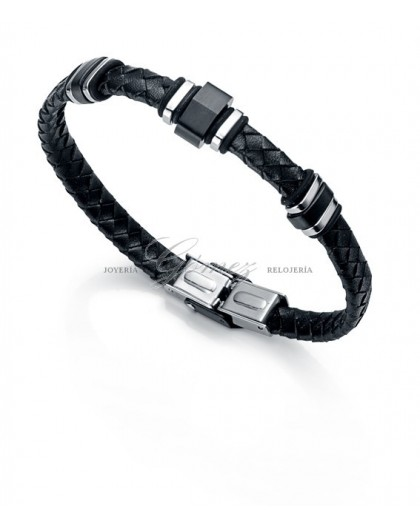 Pulsera de cuero Viceroy Fashion Ref. 6228P09010