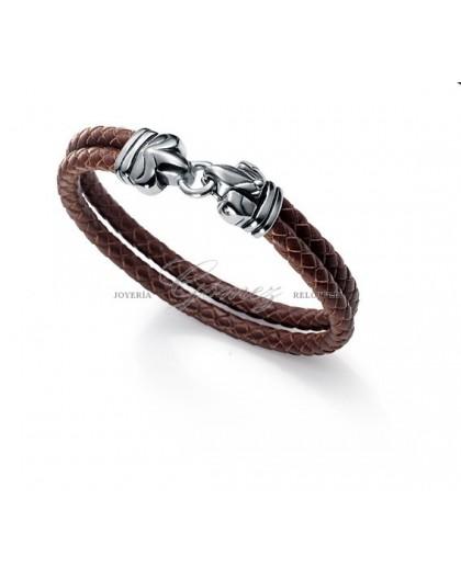 Pulsera cuero marron Viceroy Fashion Ref. 6229P01011