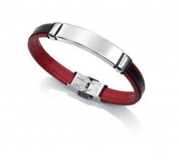 Pulsera roja y negra Viceroy Fashion Ref. 6371P09017