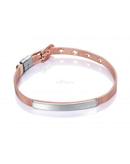 Pulsera Viceroy Fashion de acero malla milanesa Ref. 75003P09019