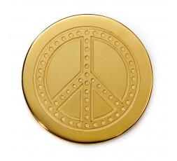 Medallon Paz IP dorado Viceroy Plaisir Ref. VMC0003-06