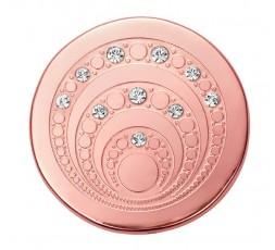 Medallon Cancer de mama IP rosa Viceroy Plaisir Ref. VMC0007-09