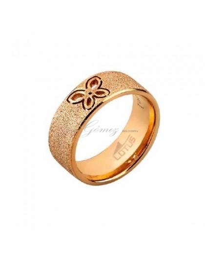 Anillo de acero Lotus Style mariposa Ref. LS1464-3/112