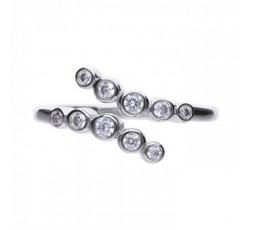 Anillo de plata con circonitas Diamonfire Ref. 6119411082165