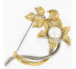 Broche- Alfiler Flor Ref. 97-204L351