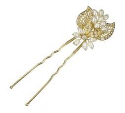 Horquilla chapada perlas Ref. 97-072T123