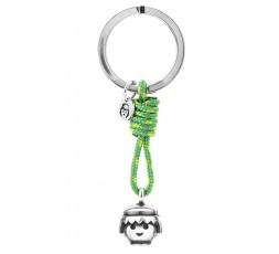 Llavero smile Playmobil verde Ref. 7001K0015