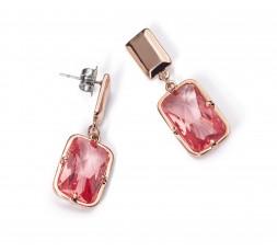 Pendientes cristal rosa Viceroy Fashion Ref. 3134E19019