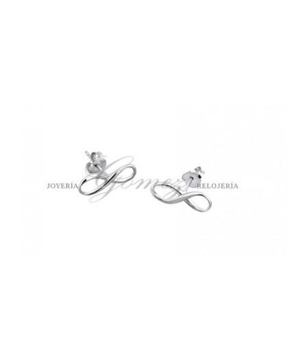 Pendientes infinito plata Lotus Silver Ref. LP1224-4/2
