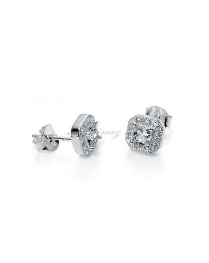 Pendientes de plata Viceroy Jewels Ref. 7010E000-50