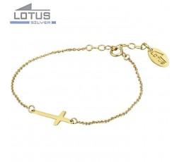 Pulsera cruz Lotus Silver Ref. LP1223-2/1