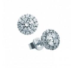 Pendientes de plata con circonitas Diamonfire Ref. 6207251082