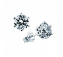 Pendientes de plata con circonitas Diamonfire Ref. 6212641082