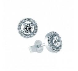 Pendientes de plata con circonitas Diamonfire Ref. 6216951582