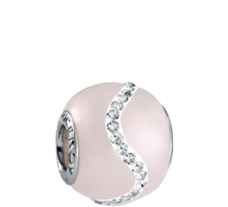 Abalorio Viceroy cuarzo rosa Ref. VMM0213-19