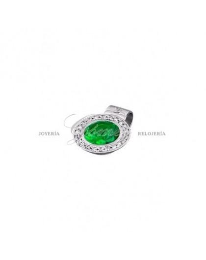 Colgante Lotus Silver verde Ref. LP1702-1/7
