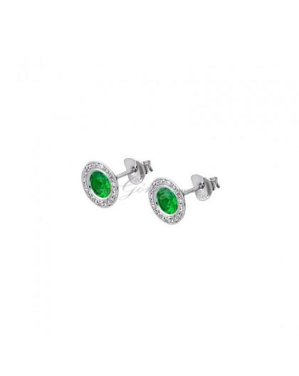 Pendientes verdes Lotus Silver Ref. LP1702-4/7