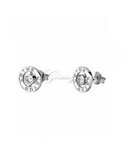 Pendientes de plata Lotus Silver Ref. LP1545-4/1