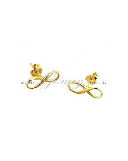 Pendientes infinito dorados Lotus Ref. LP1224-4/1