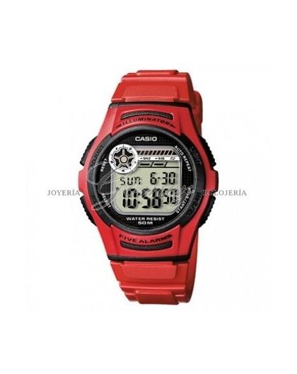 Reloj Casio Digital Ref. W-756-4AVES