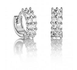 Aros de plata con piedras Viceroy Jewels Ref. 21015E000-30