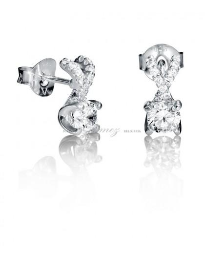 Pendientes de plata con circonitas Viceroy Jewels Ref. 7052E000-30