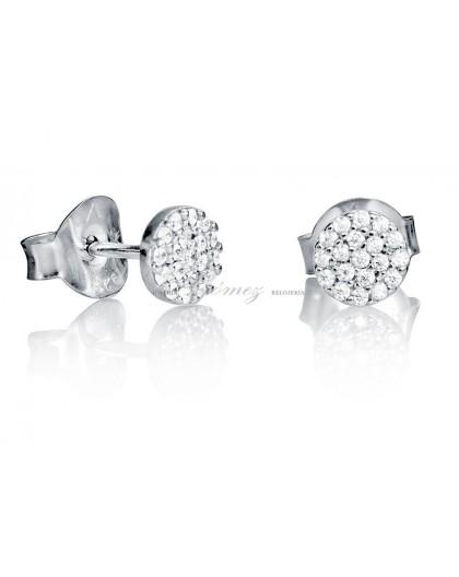Pendientes de plata con circonitas Viceroy Jewels Ref. 7054E000-30