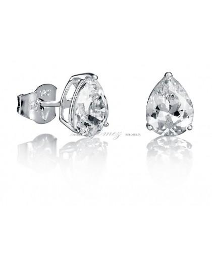 Pendientes de circonita en plata Viceroy Jewels Ref. 21006E000-30