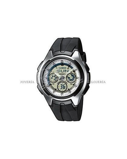 Reloj Casio anadigital refer. AQ-163W-7B1VEF
