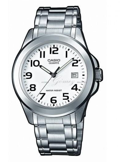 Reloj Casio de acero Ref. MTP-1259D-7BEF