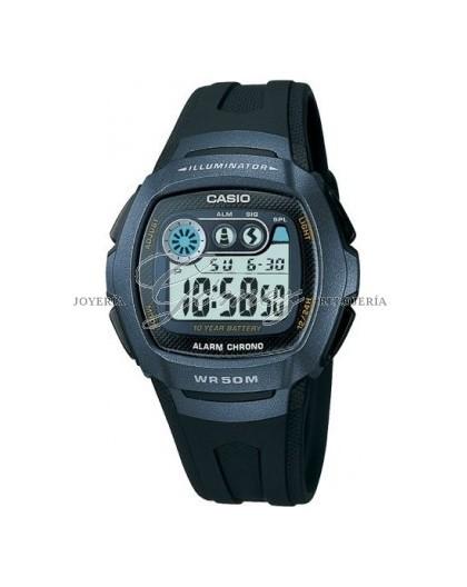 Reloj Casio Digital Refe. W-210-1BVES