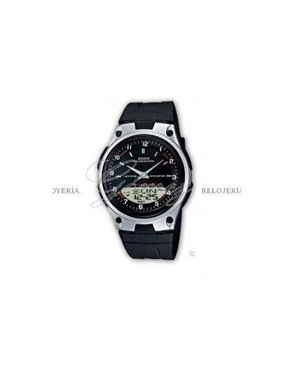 Reloj Casio Anadigital Ref. AW-80-1AVES