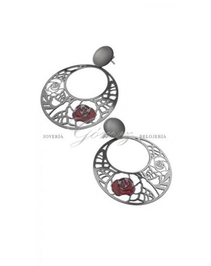 Pendientes Sara Carbonero Lotus Silver ref. LP1085-4/1