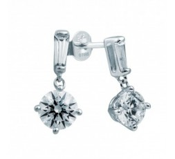 Pendientes de plata Diamond Fire Ref. 6213181082